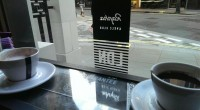 Well how could I resist a wee stop off here for a coffee. Personally I thought I showed remarkable restraint in only buying a cycling cap. Lovely stuff Rapha.