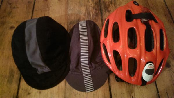 cycling caps and helmet