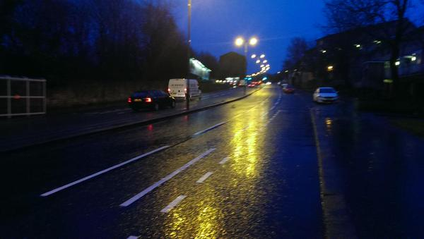 New cycle lanes in Cambuslang