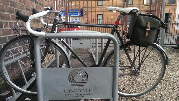 #legacy2014 cycle rack